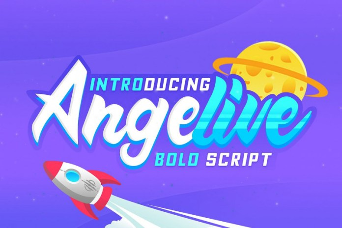 Angelive Font