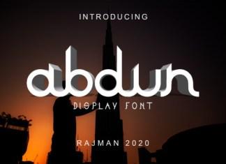 Abdun Font