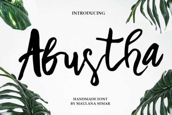 Abustha Font