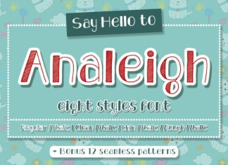 Analeigh Font