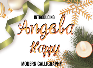 Angela Happy Font