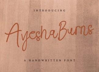 Ayesha Burns Font