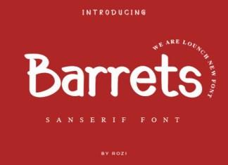 Barrets Font