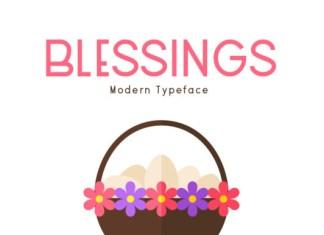 Blessings Font