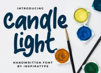 Candle Light Font