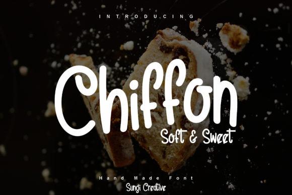 Chiffon Font