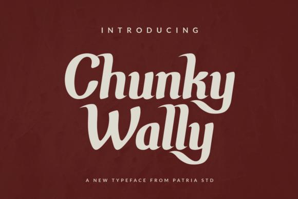 Chunky Wally Font