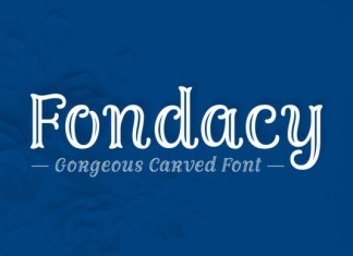 Fondacy Carved Font