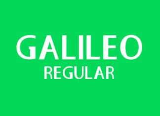 Galileo Regular Font