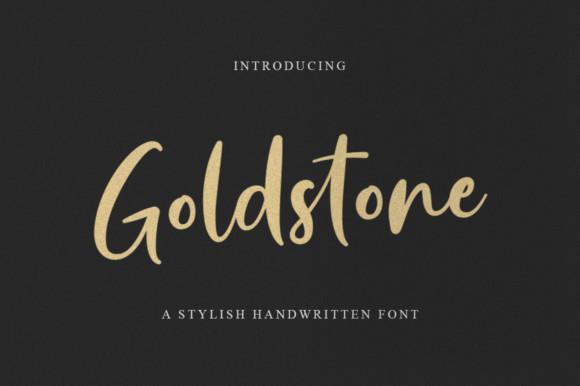 Goldstone Font