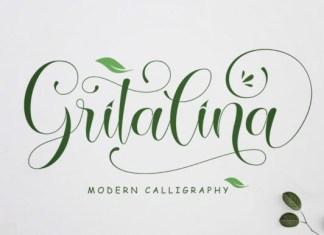 Gritalina Font
