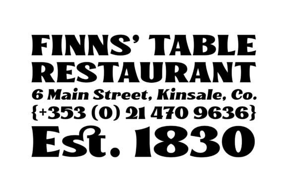 Kinsale Font