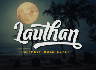 Lauthan Font