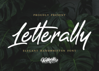 Letterally Font