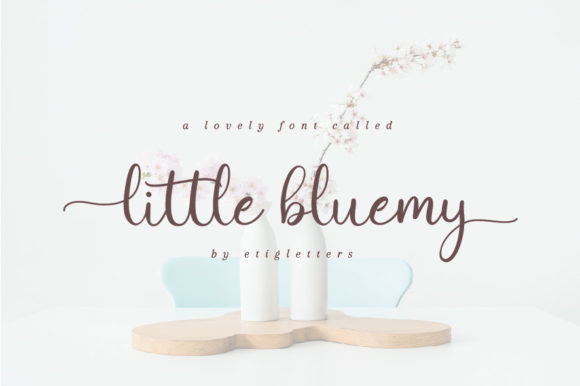 Little Bluemy Font