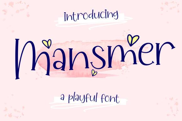 Mansmer Font