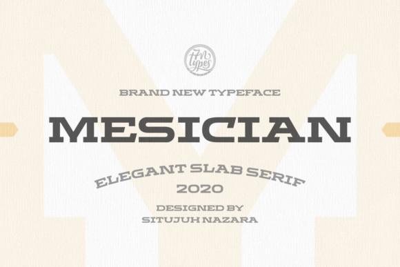 Mesician Font