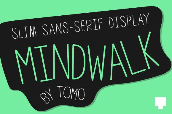 Mindwalk Font