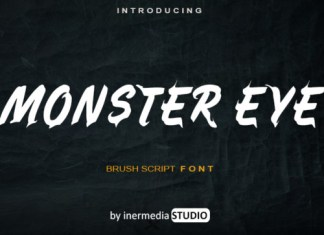 Monster Eye Font