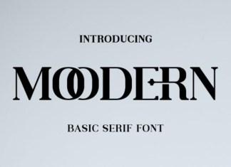 Moodern Font