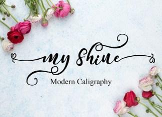 My Shine Font