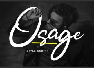 Osage Font
