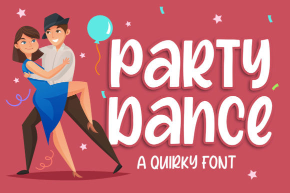 Party Dance Font