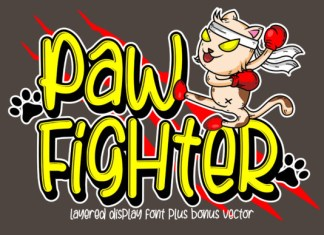 Paw Fighter Font