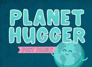Planet Hugger Font