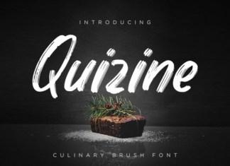 Quizine Font