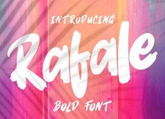 Rafale Font