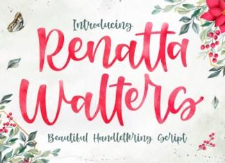 Renatta Walters Font