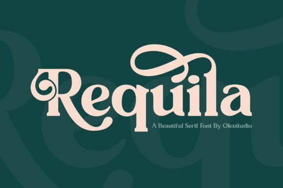 Requila Font