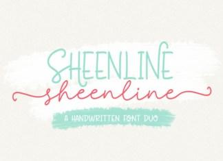 Sheenline Font