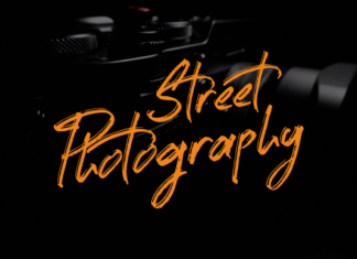 Street Photography Font