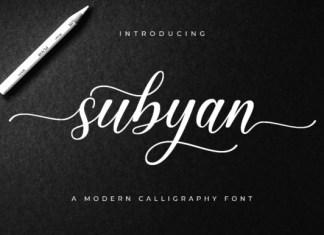 Subyan Font