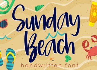Sunday Beach Font