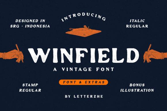 Winfield Font