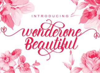 Wonderone Beautiful Font