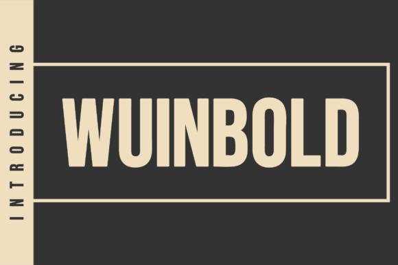 Wuinbold Font
