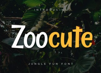 Zoocute Font