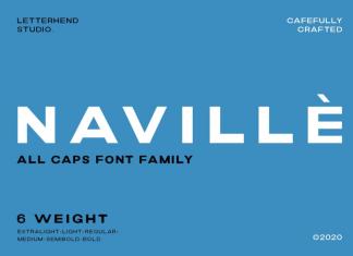 Navillè Font