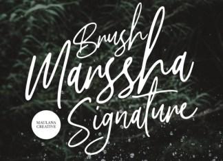 Marssha Font