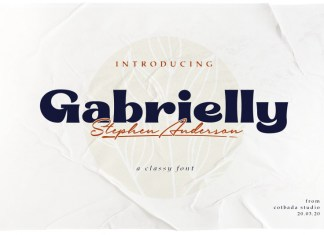 Gabrielly Font