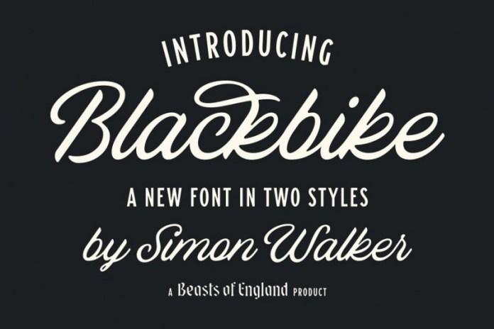 Blackbike Font