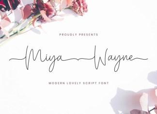 Miya Wayne Font
