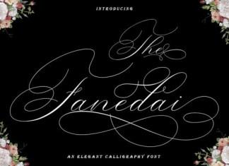 The Fanedai Font