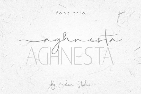 Aghnesta Trio Font