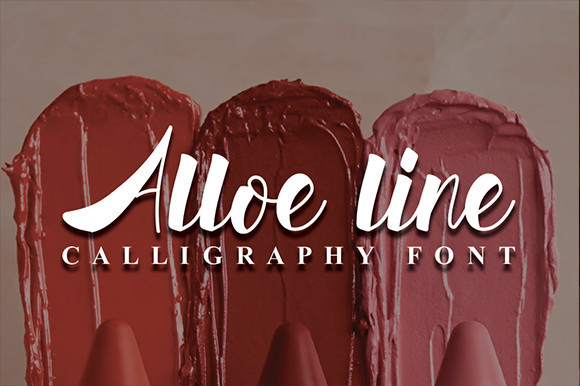 Alloe Line Font