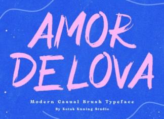Amor Delova Font